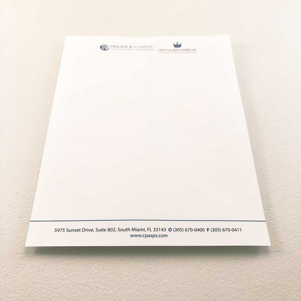 Accountant Tax business letterhead printing