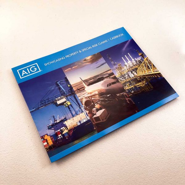 Booklet printing insurance company