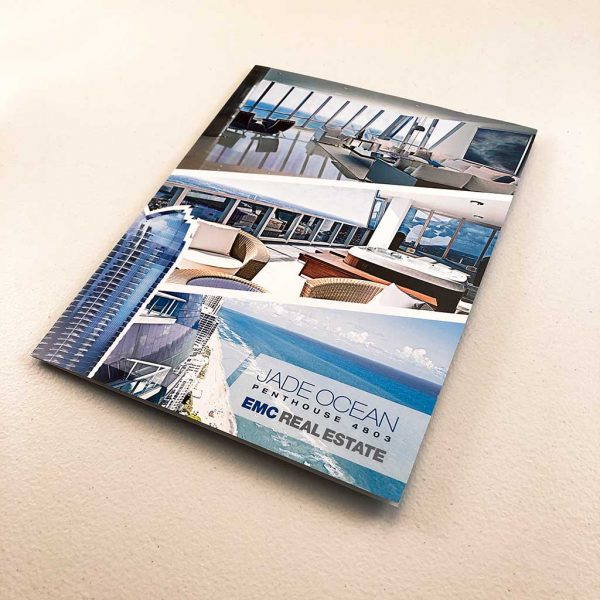 Real Estate folded brochure printing