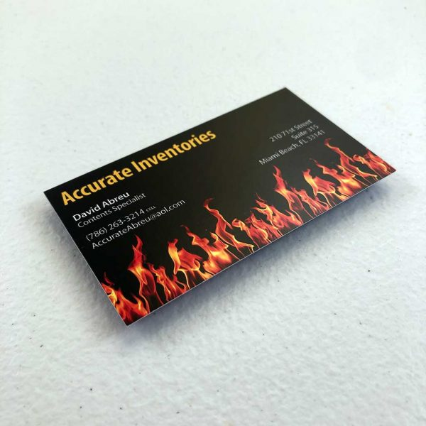 Regular business card printing Insurance