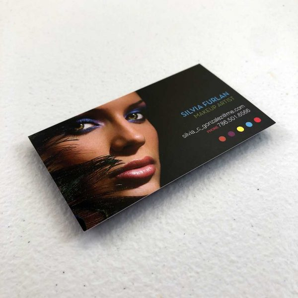 Regular business card printing Make-up artist