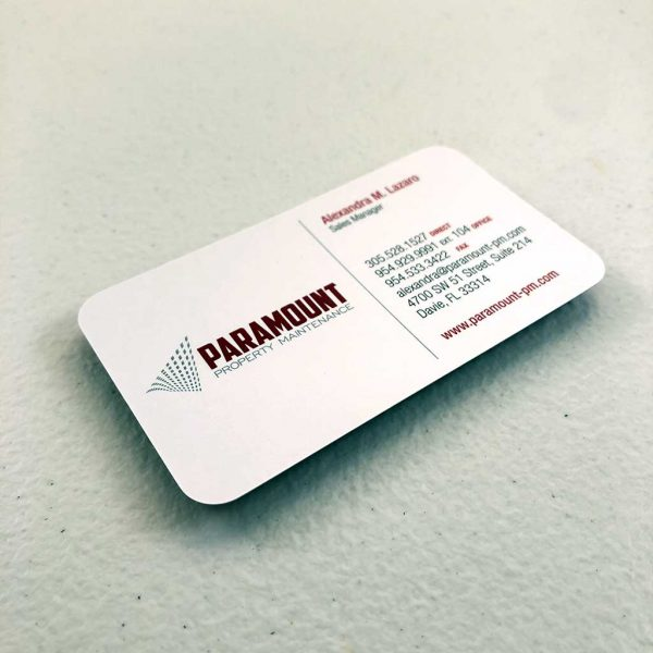 Regular business card printing Maintenance Company