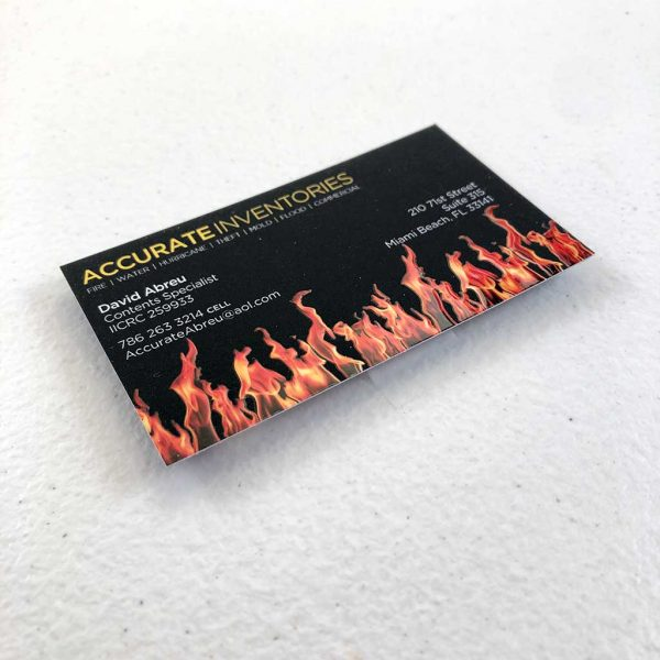 Suede business cards printing insurance