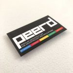 Suede business cards printing software company