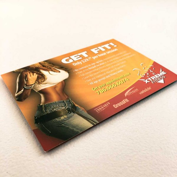 Small business postcard printing in Miami