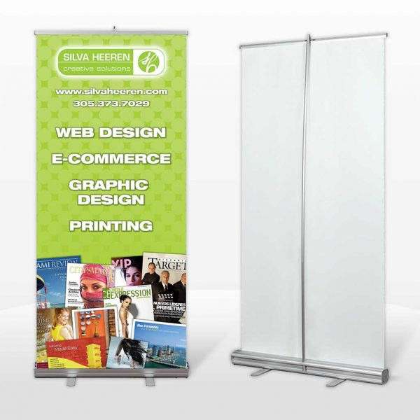 Retractable Trade Show Banner Printing in Miami